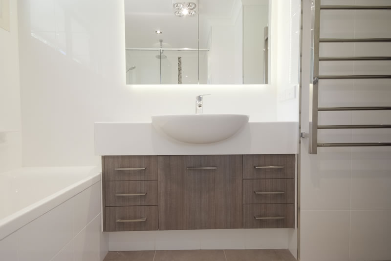 Bathroom Joinery blades joinery + construction, toowoomba bathroom renovators